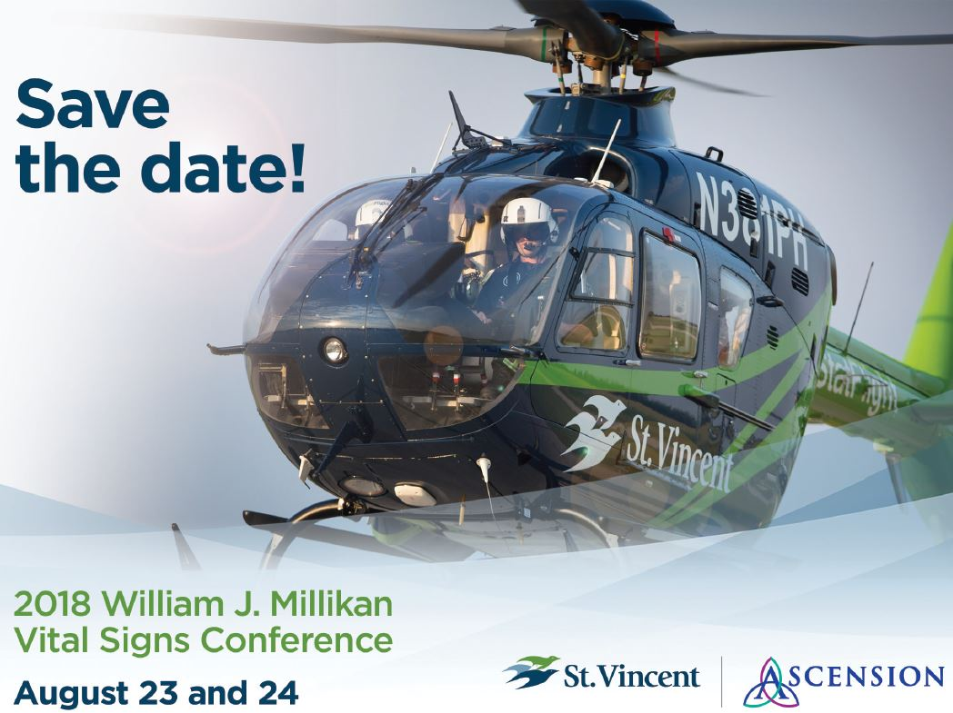 Save The Date Vital Signs Conference