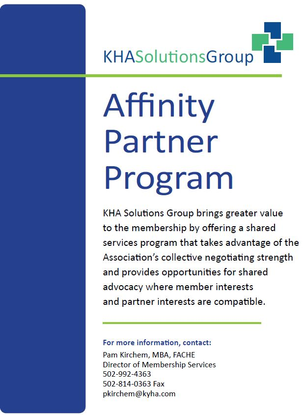 Affinity Partner Program Brochure Cover